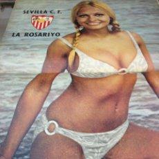 Coleccionismo deportivo: REVISTA BARRABAS Nº6 CONTIEN CARTEL CHICA SEXY SEVILLA C.F EN MUY BUEN ESTADO . Lote 49521998