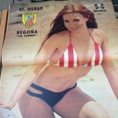 Coleccionismo deportivo: REVISTA BARRABAS Nº 7 CONTIENE POSTER CHICA SEXY ATH BILBAO EN MUY BUEN ESTADO . Lote 49522121