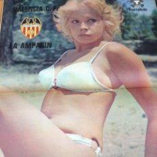 Coleccionismo deportivo: REVISTA BARRABAS Nº 8 CONTIENE POSTER CHICA VALENCIA C.F EN MUY ESTADO . Lote 49522157