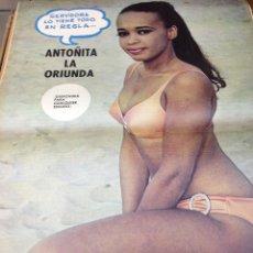 Coleccionismo deportivo: REVISTA BARRABAS Nº 11 CONTIENE POSTER CHICA SEXY ORIUNDA EN MUY ESTADO . Lote 49527769