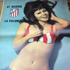 Coleccionismo deportivo: REVISTA BARRABAS Nº 12 CONTIENE POSTER CHICA SEXY AT MADRID EN MUY ESTADO . Lote 49527810