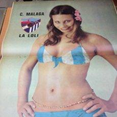 Coleccionismo deportivo: REVISTA BARRABAS Nº 13 CONTIENE POSTER CHICA SEXY C. MALAGA EN MUY ESTADO . Lote 49527883
