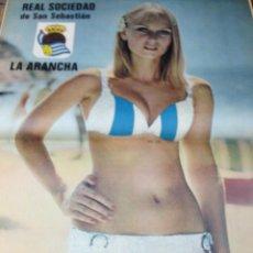 Coleccionismo deportivo: REVISTA BARRABAS Nº 14 CONTIENE POSTER CHICA SEXY REAL SOCIEDAD EN MUY ESTADO . Lote 49528017