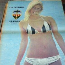 Coleccionismo deportivo: REVISTA BARRABAS Nº15 CONTIENE POSTER CHICA SEXY C.D CASTELLO EN MUY ESTADO . Lote 49528060