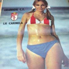Coleccionismo deportivo: REVISTA BARRABAS Nº 20 CONTIENE POSTER CHICA SEXY GRANADA C.F EN MUY ESTADO . Lote 49528268