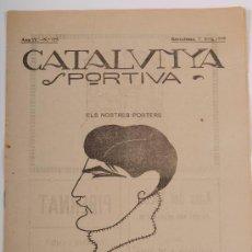 Coleccionismo deportivo: CATALUNYA SPORTIVA (FOOT-BALL). REVISTA Nº 125. BARCELONA. ANY 1919. Lote 52747617
