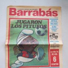 Colecionismo desportivo: LA REVISTA SATIRICA DEL DEPORTE BARRABAS Nº 2 - SEGUNDA EPOCA - AÑO I.. Lote 54019691