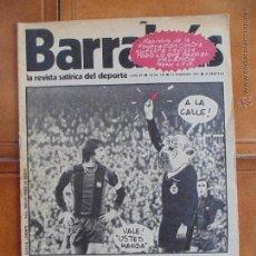 Coleccionismo deportivo: REVISTA SATÍRICA DEL DEPORTE,Nº124,AÑO 1975.PORTADA CRUYFF,COMO EL LUTE.. Lote 54122092