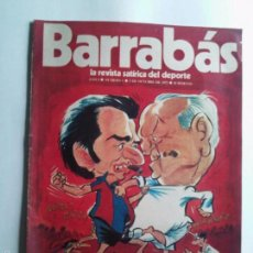 Coleccionismo deportivo: BARRABÁS Nº 1 DEL 3-10-1972 - BARÇA / MADRID - POSTER DE LA CARMETA DEL .C.F. BARCELONA - VER FOTOS . Lote 55226814