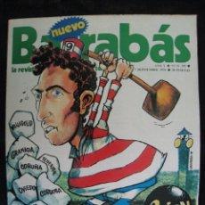 Colecionismo desportivo: REVISTA - NUEVO BARRABAS - Nº 205 - CON POSTER CENTRAL CHICA - 1976.. Lote 55455522