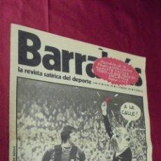 Coleccionismo deportivo: BARRABÁS. Nº 124. 11 - 2 - 1975. EN PORTADA: CRUYFF, COMO EL LUTE. CON POSTER.. Lote 56116280