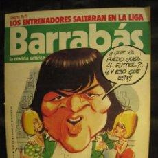 Coleccionismo deportivo: REVISTA - BARRABAS - Nº 144 - CON POSTER CENTRAL DE CHICA - 1975.. Lote 96265548