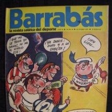 Coleccionismo deportivo: REVISTA - BARRABAS - Nº 16 - CON POSTER CENTRAL DE CHICA C.D. SAN ANDRES - 1973.. Lote 56642320