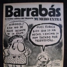 Coleccionismo deportivo: REVISTA - BARRABAS - NUMERO EXTRA - CON POSTER CENTRAL DEL EQUIPO SOÑADO - 1974.. Lote 56642800