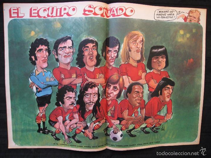 Coleccionismo deportivo: REVISTA - BARRABAS - NUMERO EXTRA - CON POSTER CENTRAL DEL EQUIPO SOÑADO - 1974. - Foto 3 - 56642800