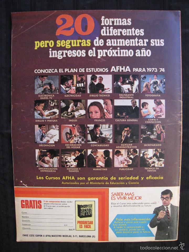 Coleccionismo deportivo: REVISTA - BARRABAS - NUMERO EXTRA - CON POSTER CENTRAL DEL EQUIPO SOÑADO - 1974. - Foto 4 - 56642800