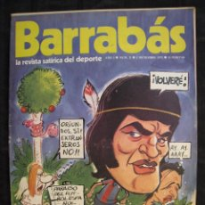 Collectionnisme sportif: REVISTA - BARRABAS - Nº 10 - CON POSTER CENTRAL DE CHICA SPORTING DE GIJON - 1972.. Lote 56643059
