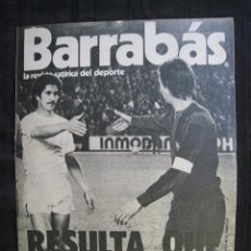 Collectionnisme sportif: REVISTA - BARRABAS - Nº 119 - CON POSTER CENTRAL FOTONOVELA DEL REAL MADRID/F.C.BARCELONA - 1975.. Lote 56702444