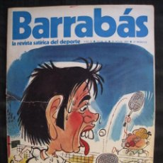 Collectionnisme sportif: REVISTA - BARRABAS - Nº 42 - CON POSTER CENTRAL DE CHICA BARACALDO CLUB - 1973.. Lote 56705390
