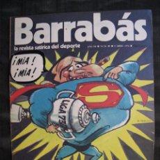 Colecionismo desportivo: REVISTA - BARRABAS - Nº 80 - CON POSTER CENTRAL - 1974.. Lote 56705674