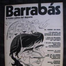 Colecionismo desportivo: REVISTA - BARRABAS - Nº 90 - CON POSTER CENTRAL - 1974.. Lote 56705709