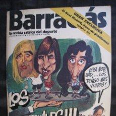 Colecionismo desportivo: REVISTA - BARRABAS - Nº 89 - CON POSTER CENTRAL - 1974.. Lote 56705723