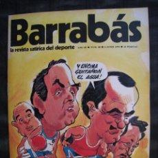 Colecionismo desportivo: REVISTA - BARRABAS - Nº 88 - CON POSTER CENTRAL - 1974.. Lote 56705734
