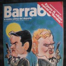 Colecionismo desportivo: REVISTA - BARRABAS - Nº 72 - CON POSTER CENTRAL DE CHICA - 1974.. Lote 56705833