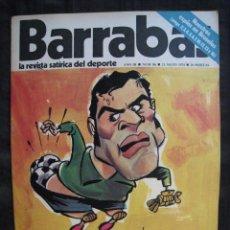Colecionismo desportivo: REVISTA - BARRABAS - Nº 86 - CON POSTER CENTRAL - 1974.. Lote 56726568