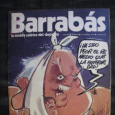 Colecionismo desportivo: REVISTA - BARRABAS - Nº 98 - CON POSTER CENTRAL DE CHICA - 1974.. Lote 56728030