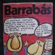 Coleccionismo deportivo: REVISTA - BARRABAS - Nº 9 - CON POSTER CENTRAL DE CHICA U.D. LAS PALMAS - 1972.. Lote 90367570