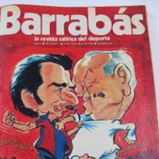 Coleccionismo deportivo: L-3872. REVISTA BARRABÁS ENCUADERNADA. 5 TOMOS. AÑOS 1972 A 1974. DESDE NUMERO 1.. Lote 57102255