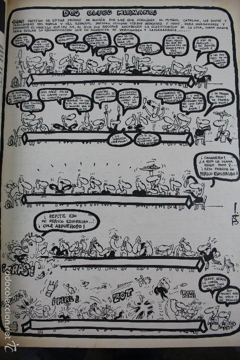 Coleccionismo deportivo: L-3872. REVISTA BARRABÁS ENCUADERNADA. 5 TOMOS. AÑOS 1972 A 1974. DESDE NUMERO 1. - Foto 4 - 57102255