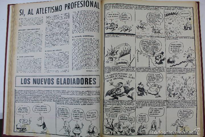 Coleccionismo deportivo: L-3872. REVISTA BARRABÁS ENCUADERNADA. 5 TOMOS. AÑOS 1972 A 1974. DESDE NUMERO 1. - Foto 8 - 57102255