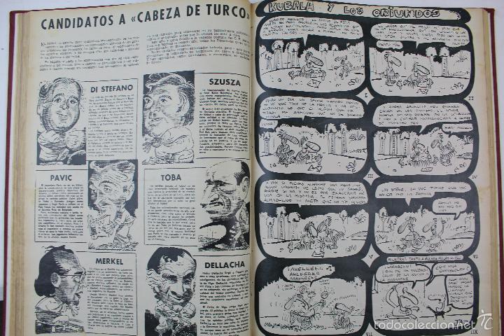 Coleccionismo deportivo: L-3872. REVISTA BARRABÁS ENCUADERNADA. 5 TOMOS. AÑOS 1972 A 1974. DESDE NUMERO 1. - Foto 9 - 57102255