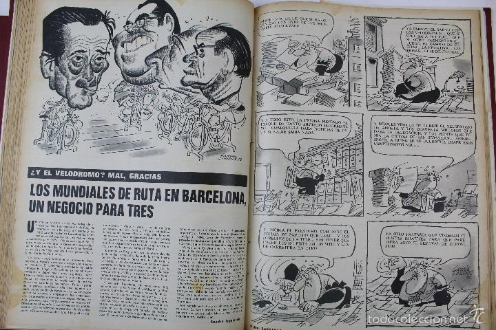 Coleccionismo deportivo: L-3872. REVISTA BARRABÁS ENCUADERNADA. 5 TOMOS. AÑOS 1972 A 1974. DESDE NUMERO 1. - Foto 19 - 57102255