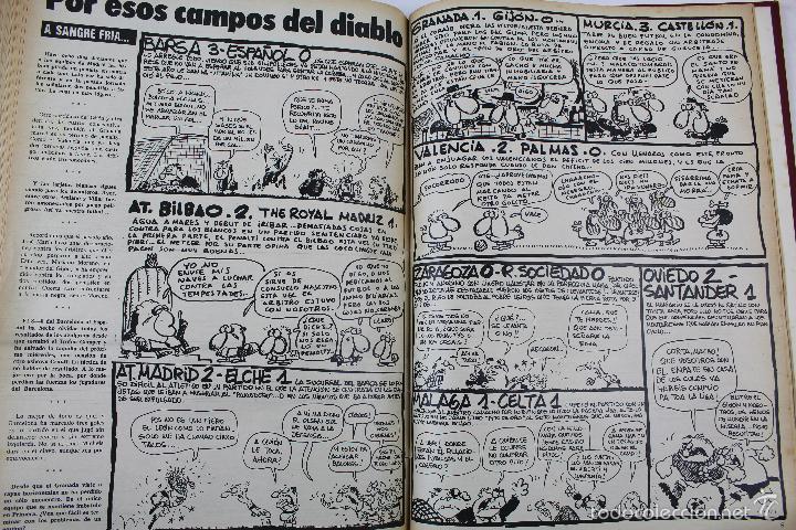 Coleccionismo deportivo: L-3872. REVISTA BARRABÁS ENCUADERNADA. 5 TOMOS. AÑOS 1972 A 1974. DESDE NUMERO 1. - Foto 26 - 57102255