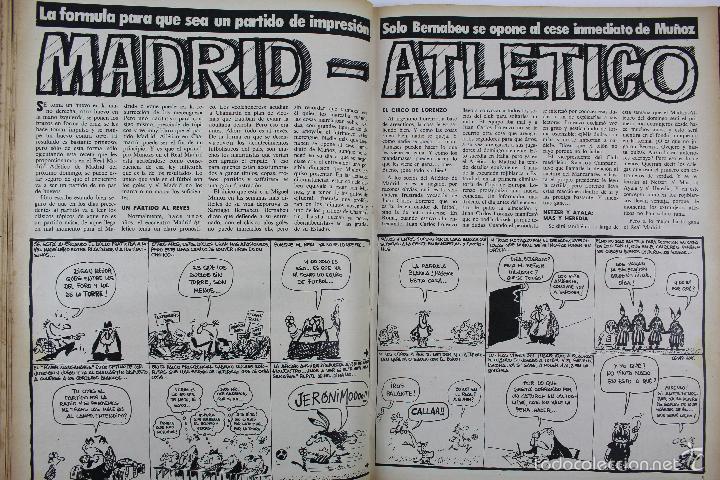 Coleccionismo deportivo: L-3872. REVISTA BARRABÁS ENCUADERNADA. 5 TOMOS. AÑOS 1972 A 1974. DESDE NUMERO 1. - Foto 32 - 57102255