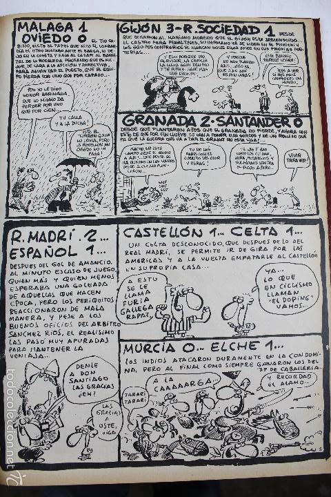 Coleccionismo deportivo: L-3872. REVISTA BARRABÁS ENCUADERNADA. 5 TOMOS. AÑOS 1972 A 1974. DESDE NUMERO 1. - Foto 34 - 57102255