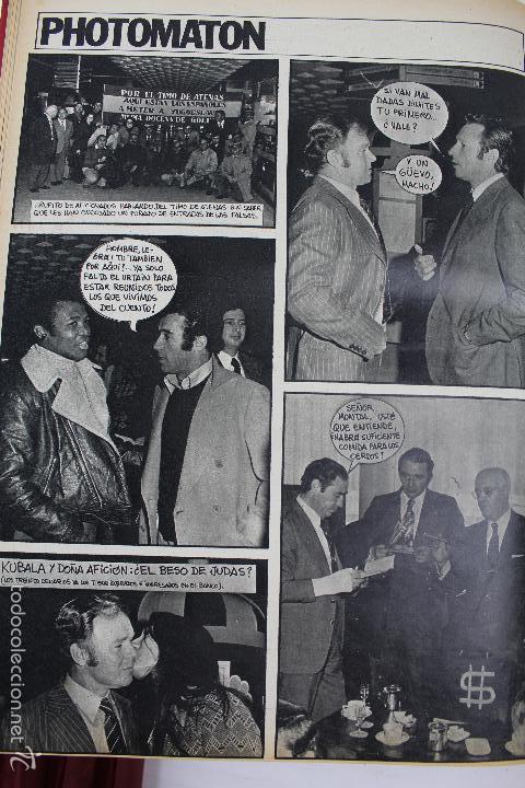 Coleccionismo deportivo: L-3872. REVISTA BARRABÁS ENCUADERNADA. 5 TOMOS. AÑOS 1972 A 1974. DESDE NUMERO 1. - Foto 40 - 57102255