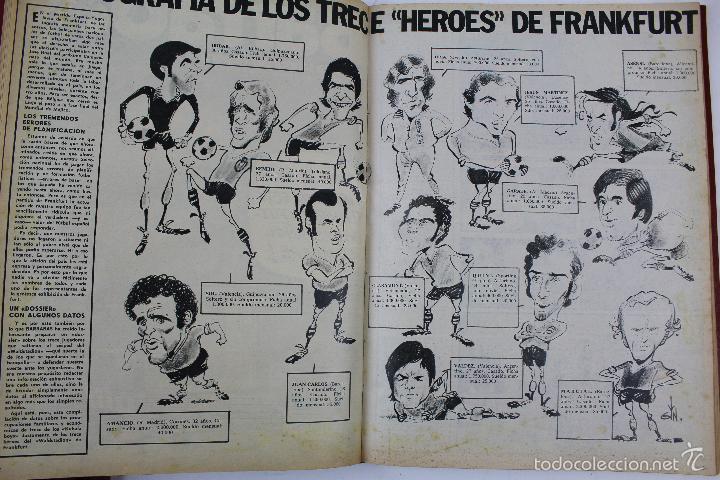 Coleccionismo deportivo: L-3872. REVISTA BARRABÁS ENCUADERNADA. 5 TOMOS. AÑOS 1972 A 1974. DESDE NUMERO 1. - Foto 41 - 57102255