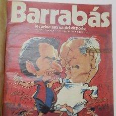 Collectionnisme sportif: REVISTA BARRABÁS NÚMEROS 1-25. 1972-1973. Lote 66235722