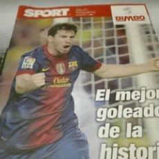 Coleccionismo deportivo: ESPECIAL MESSI 2012. Lote 67751686