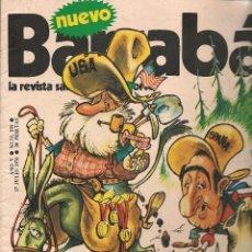 Coleccionismo deportivo: BARRABÁS. LA REVISTA SATÍRICA DEL DEPORTE. Nº 199. POSTER CENTRAL: (RF.MA)B/62. Lote 84402148