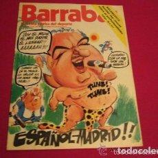 Coleccionismo deportivo: BARRABAS REVISTA SATIRICA DEL DEPORTE Nº 108 AÑO 1974. Lote 85021016