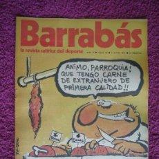 Coleccionismo deportivo: BARRABÁS, REVISTA SATÍRICA DEL DEPORTE, AÑO II - 1973, Nº 36.. Lote 85021116