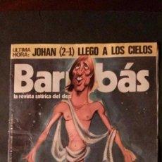 Coleccionismo deportivo: REVISTA BARRABAS Nº 178-1976-CRUYFF-ATLETICO DE MADRID. Lote 85022520
