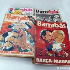Coleccionismo deportivo: BARRABÁS, REVISTA SATÍRICA DEL DEPORTE. LOTE DE 209NºS DE 242 ELF (VVAA) ELF, 1972. Lote 96011372