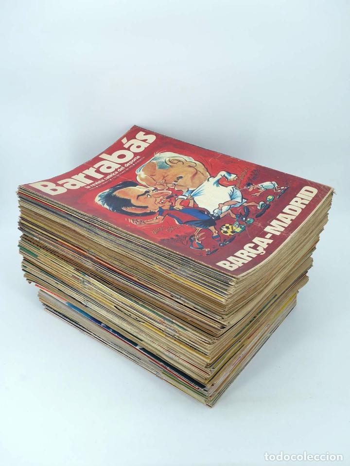 Coleccionismo deportivo: BARRABÁS, REVISTA SATÍRICA DEL DEPORTE. LOTE DE 209NºS DE 242 ELF (Vvaa) Elf, 1972 - Foto 2 - 96011372
