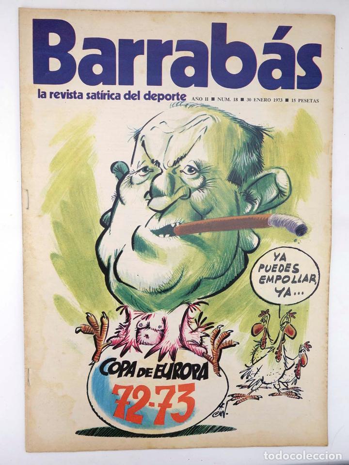 Coleccionismo deportivo: BARRABÁS, REVISTA SATÍRICA DEL DEPORTE. LOTE DE 209NºS DE 242 ELF (Vvaa) Elf, 1972 - Foto 5 - 96011372